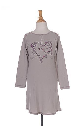 Chemise de nuit gris IKKS pour fille