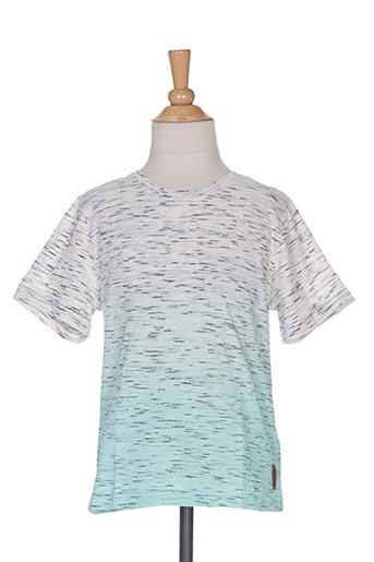 T-shirt manches courtes vert TOM TAILOR pour garçon