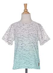T-shirt manches courtes vert TOM TAILOR pour garçon seconde vue