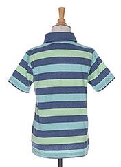 Polo manches courtes bleu TOM TAILOR pour garçon seconde vue