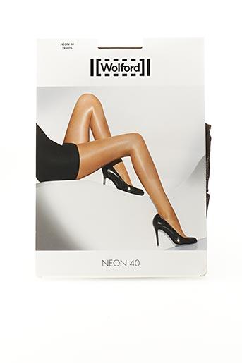 Collants noir WOLFORD pour femme