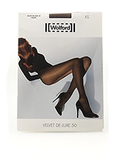 Collants gris WOLFORD pour femme seconde vue