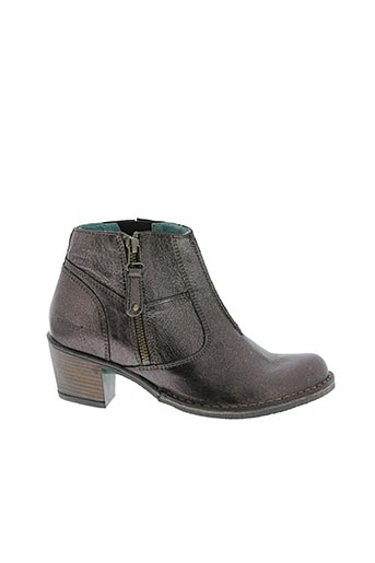 Bottines/Boots marron KARSTON pour femme