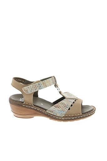 Sandales/Nu pieds beige ARA pour fille