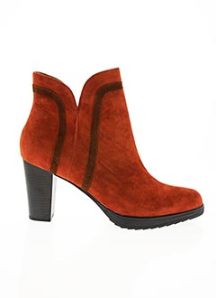 Bottines/Boots orange EMILIE KARSTON pour femme