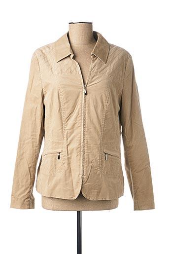 Veste casual beige FRANK WALDER pour femme