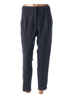 Pantalon 7/8 bleu ALAIN MURATI pour femme