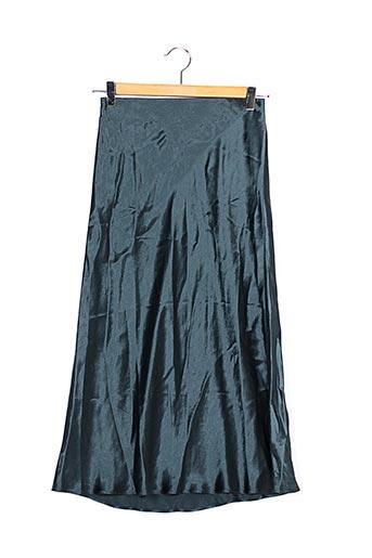 Jupe mi-longue vert BABATON pour femme