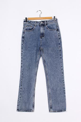 Jeans boyfriend bleu MOMOKROM pour femme