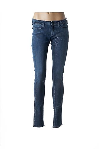 Jeans skinny bleu GUESS pour femme