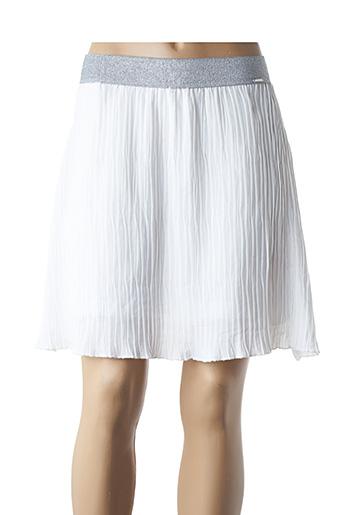 Jupe courte blanc COQUELICOT pour femme