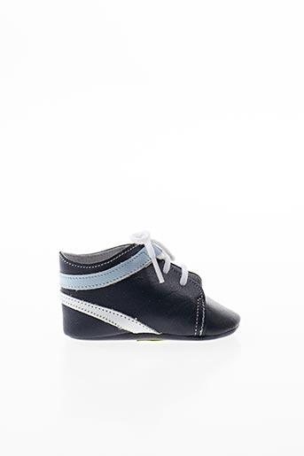 Chaussons/Pantoufles bleu CHAUSS'COEUR pour garçon