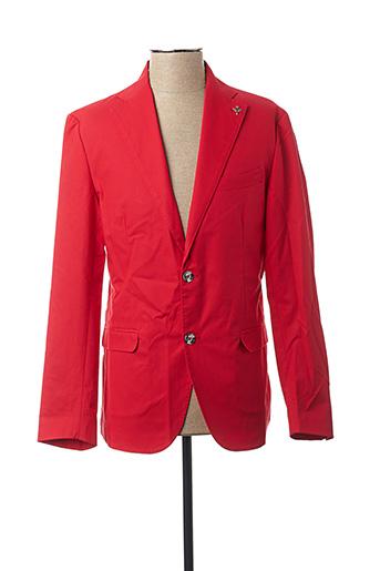 Veste chic / Blazer rouge CARNET DE VOL pour homme