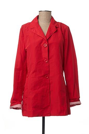 Imperméable/Trench rouge GUXY pour femme