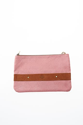 Pochette rose MILA LOUISE pour femme