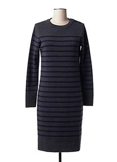 Robe pull gris ARMOR LUX pour femme