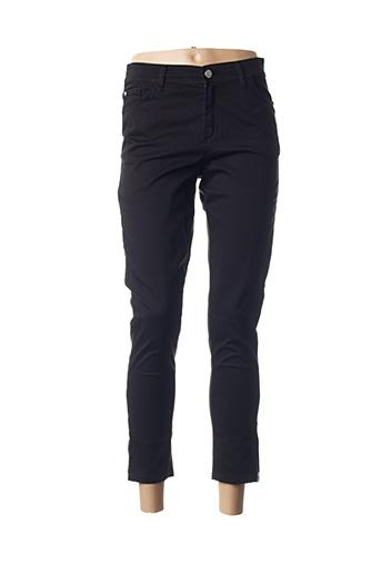 Pantalon 7/8 noir COWEST pour femme