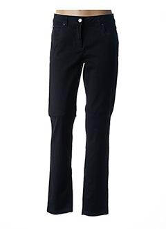Jeans coupe slim noir BRANDTEX pour femme
