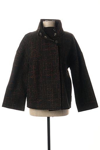 Manteau court noir B.YU pour femme