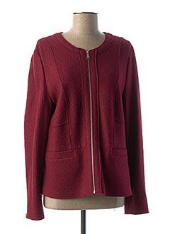 Veste casual rouge GERRY WEBER pour femme
