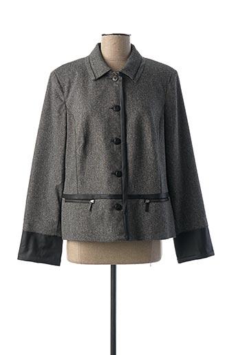 Veste chic / Blazer gris PAUPORTÉ pour femme