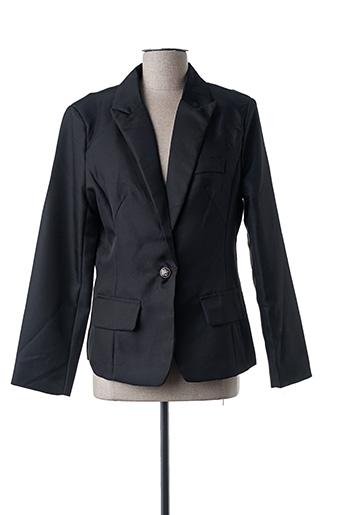Veste chic / Blazer noir HAORA pour femme