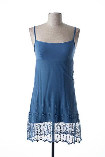 Nuisette/combinette bleu MORETTA pour femme