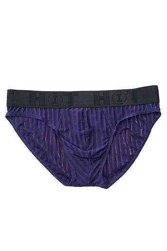 Slip/Culotte violet HOT pour homme