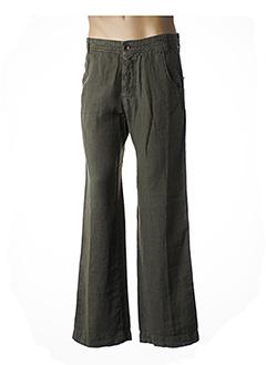 Pantalon casual vert GIANFRANCO FERRE pour homme