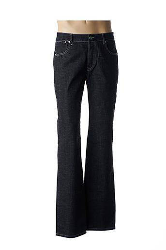 Jeans coupe droite noir ANDRES GARCIA pour homme