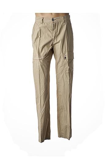 Pantalon casual beige EXIGO pour homme