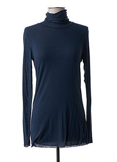Sous-pull bleu B.YU pour femme
