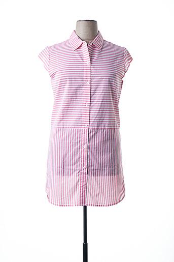 Robe courte rose ESPRIT pour femme