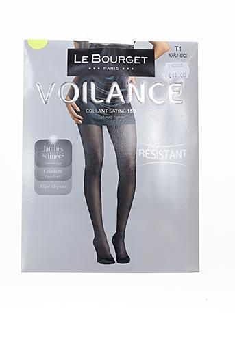 Collants noir LE BOURGET pour femme