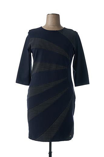 Robe courte bleu FERRACHE pour femme