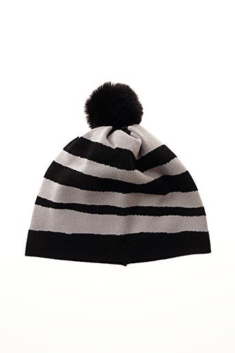 Bonnet noir LE COMTE pour femme
