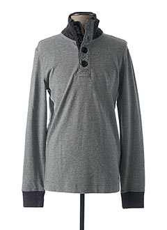 Sweat-shirt gris HUGO BOSS pour homme
