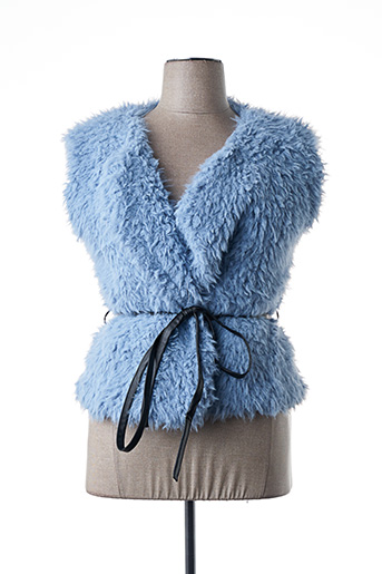 Veste chic / Blazer bleu MALOKA pour femme