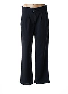 Pantalon casual noir COMPAÑIA FANTASTICA pour femme