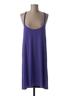 Robe mi-longue violet FREYA pour femme