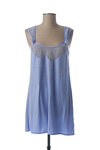 Nuisette/combinette bleu LUNA pour femme