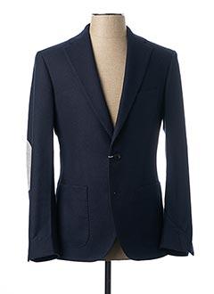 Veste chic / Blazer bleu VICOMTE ARTHUR pour homme