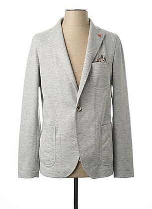 Veste chic / Blazer gris MANUEL RITZ pour homme