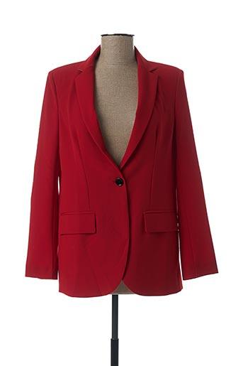 Veste chic / Blazer rouge IMPERIAL pour femme