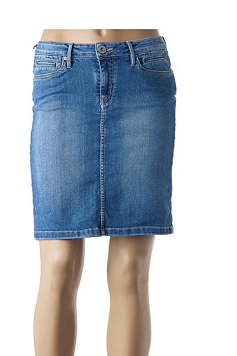 Jupe courte bleu DENIM STUDIO pour femme