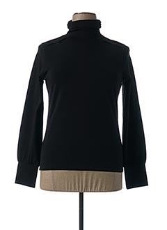T-shirt manches longues noir BLESSING pour femme