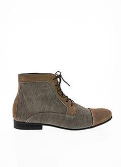 Bottines/Boots beige HEXAGONE pour homme