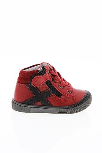 Baskets rouge BELLAMY pour garçon