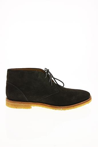 Bottines/Boots vert SIOUX pour homme