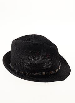 Chapeau noir IKKS pour fille